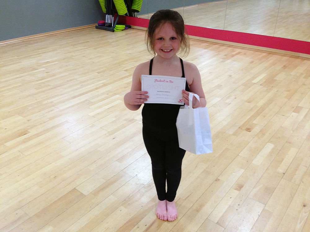 JC Dance - Student spotlight - Daisy Peachey