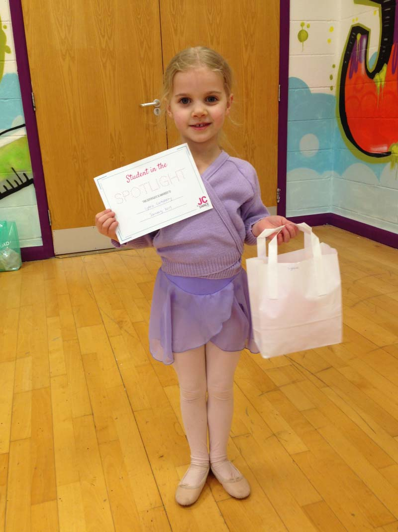JC Dance Blackpool - Spotlight February - Lydia